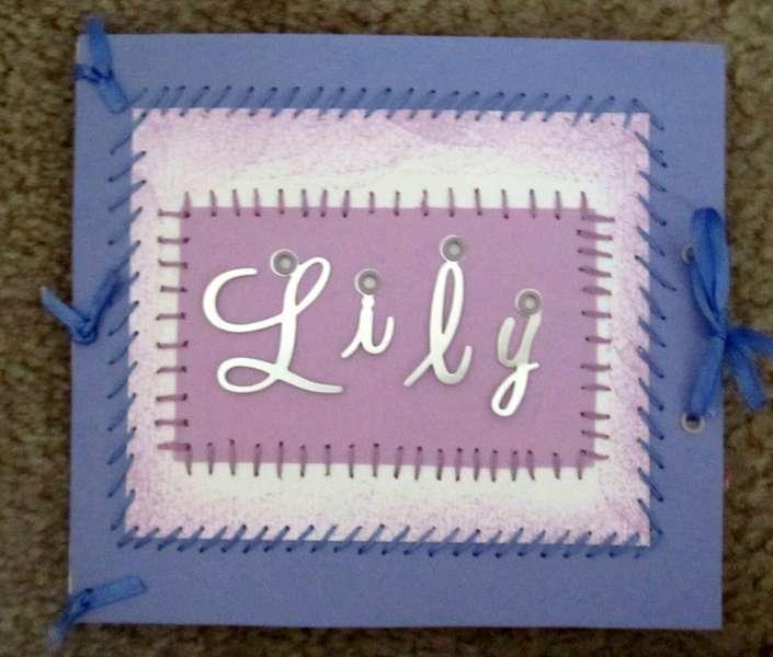 Lily- mini book