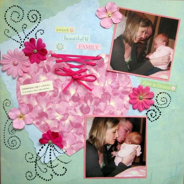 Sweet Beautiful Family