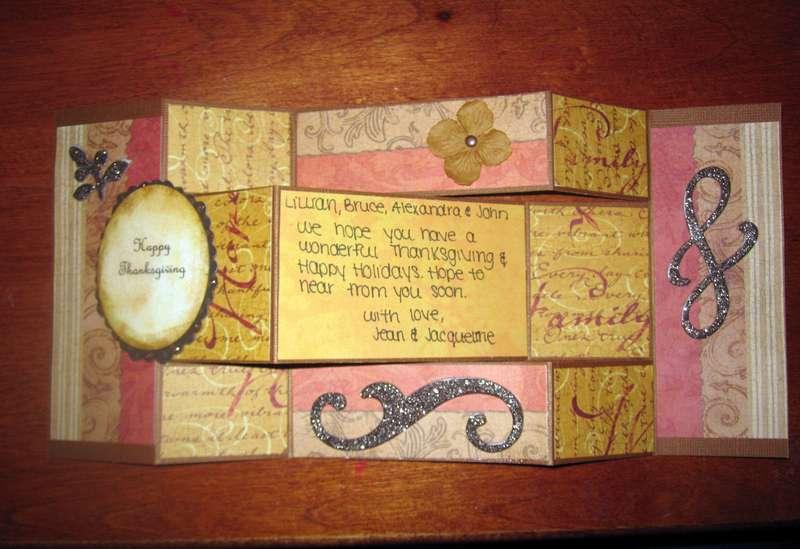 Thanksgiving Tri-Fold Card