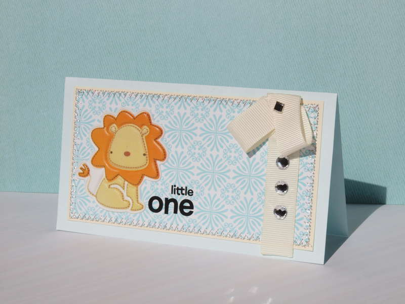 Little one. baby card