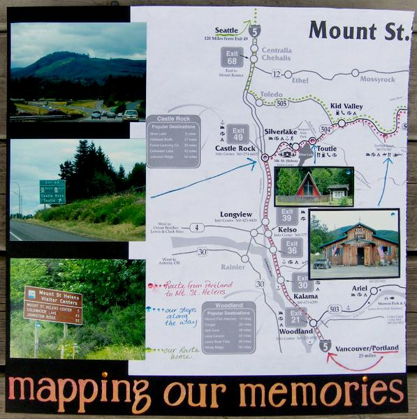 Mapping our memories to Mt. St. Helens (left)