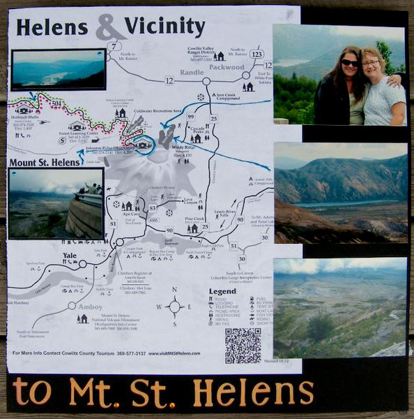 Mapping our memories to Mt. St. Helens (right)