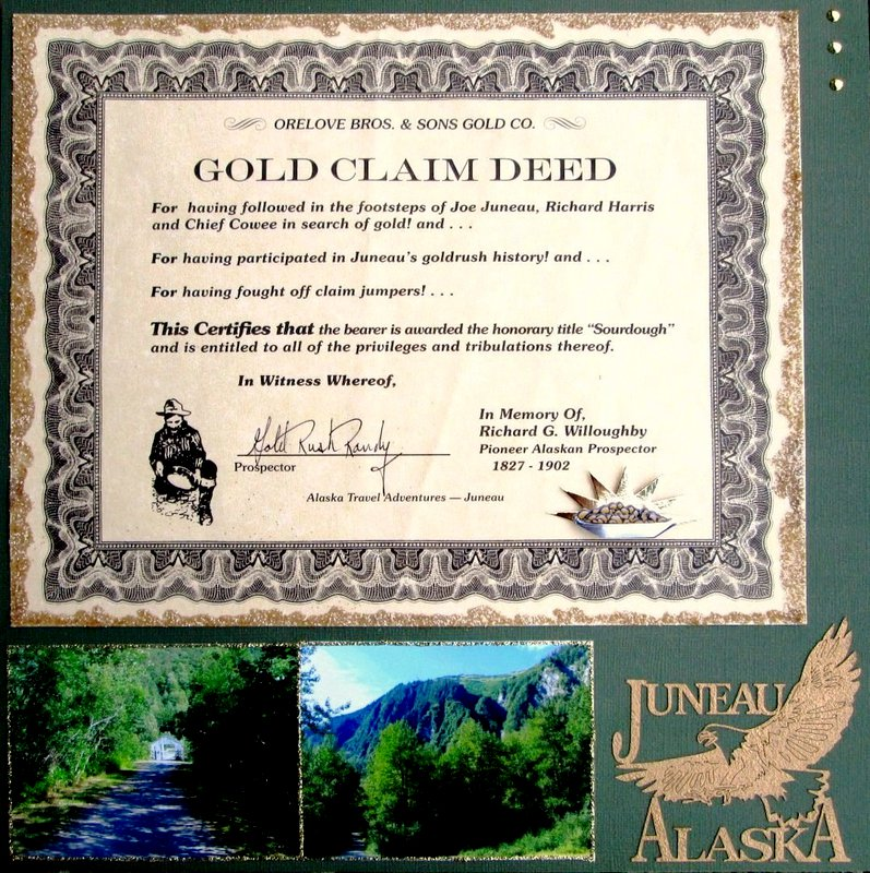 Panning for Gold - Juneau