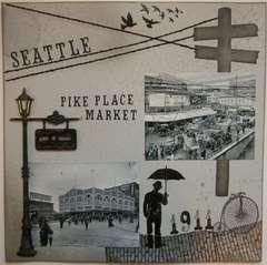 Seattle 1911 - Pike Place Market (left side)