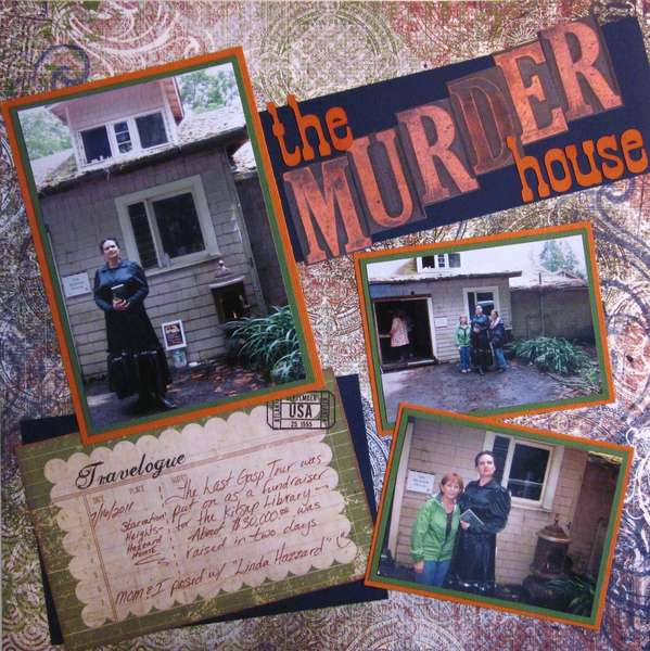 The Murder House from The Last Gasp Tour