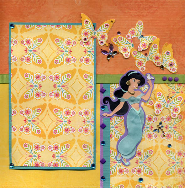 Jasmine Right Page