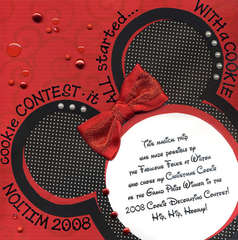 Disney Album Back Page