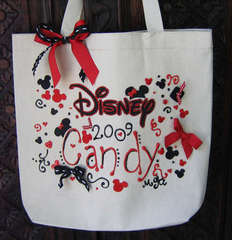 Disney Personalized Tote Bag