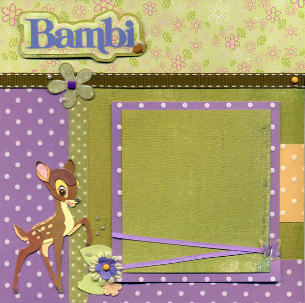 Bambi Left Page