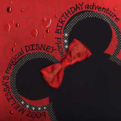 Disney Album Cover Page
