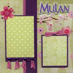 Mulan Left Page