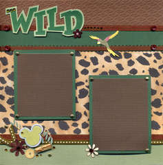 Wild Kingdom Left Page