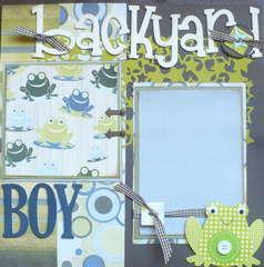 Backyard Boy