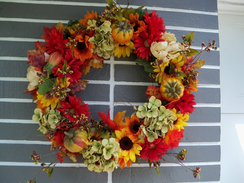 Revised photo of my new wreath