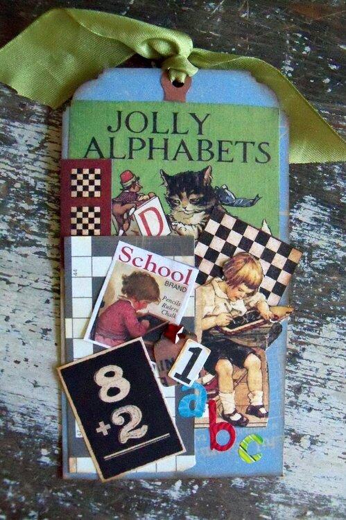 Tag...Jolly Alphabets