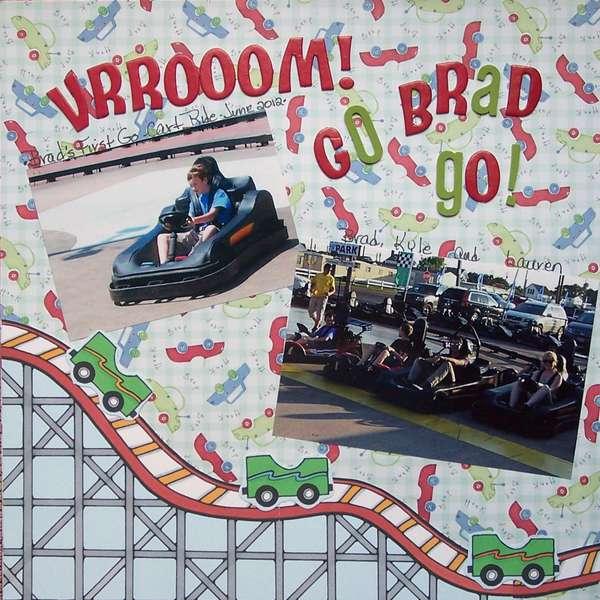 VRRooooom! Go Brad Go!