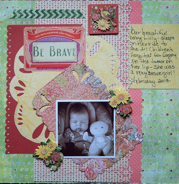 Be Brave.......!