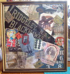 Vintage Football Collage