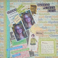 Hannah - School Memories 2010