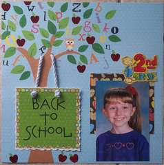 2nd Grade - Back To School