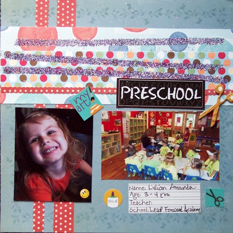 PreSchool...Lilly 4yrs