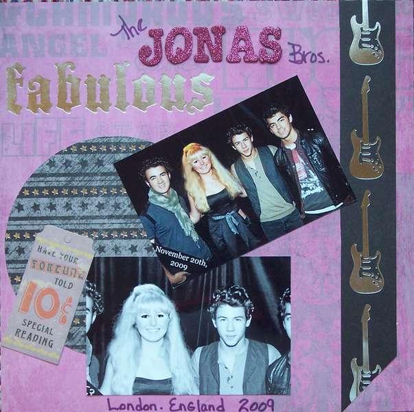 The Jonas Bros.  London, England 2009 pg 1.