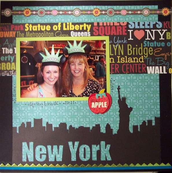 New York.....Statue of Liberty