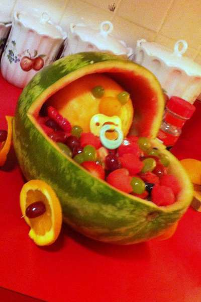 Watermelon Fruit Salad