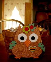 Owl candy basket **Moxxie**