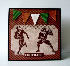 F is for Football card **Moxxie**