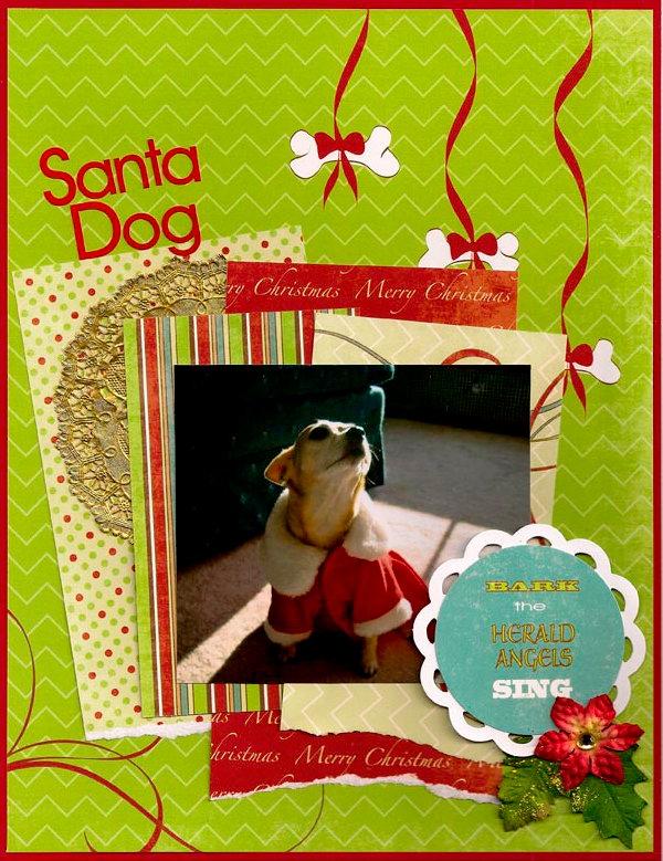 Santa Dog **Moxxie**