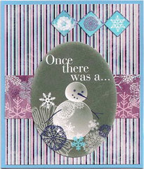 Winterland snowman card **Moxxie**