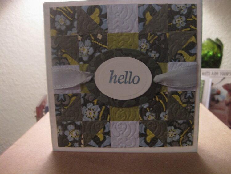 Quilt Design Card