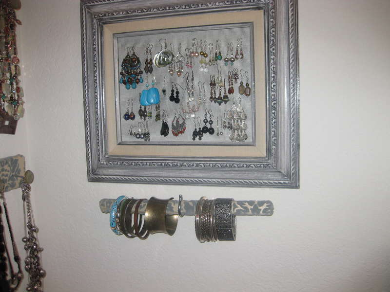 Finished Jewelry Organizer