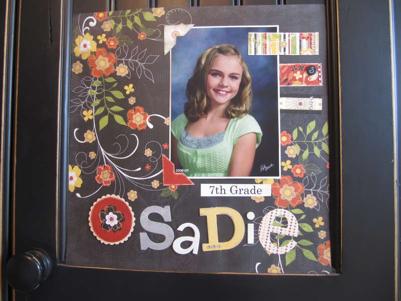 sadie 7th grade