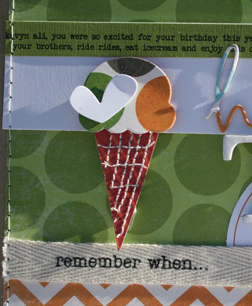 happy ten My MInd's Eye LIME TWIST 'Nook AUG kit