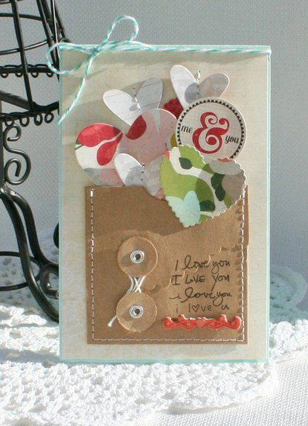 CP Paper Hearts Valentine Cards