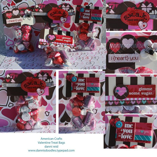 American Crafts Valentine Treat Bags