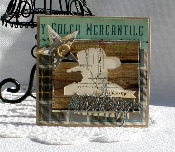 OA Sasparilla cowboy cards valentine