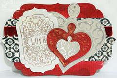 Love Potion No.9 Metal Foil Card