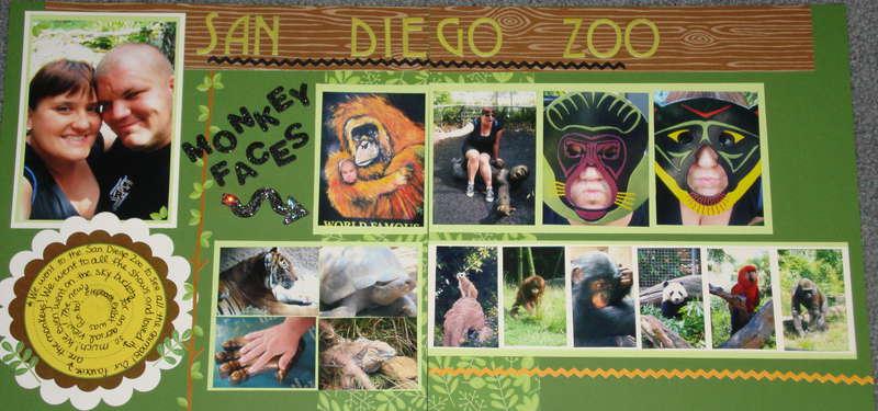 San Diego Zoo, Making Monkey faces