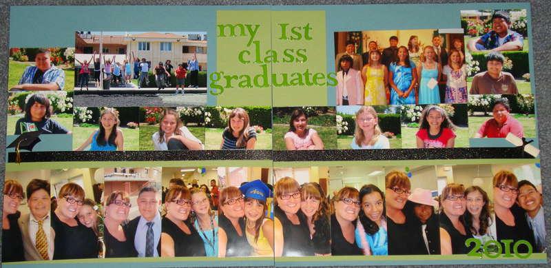 My First Class Graduates