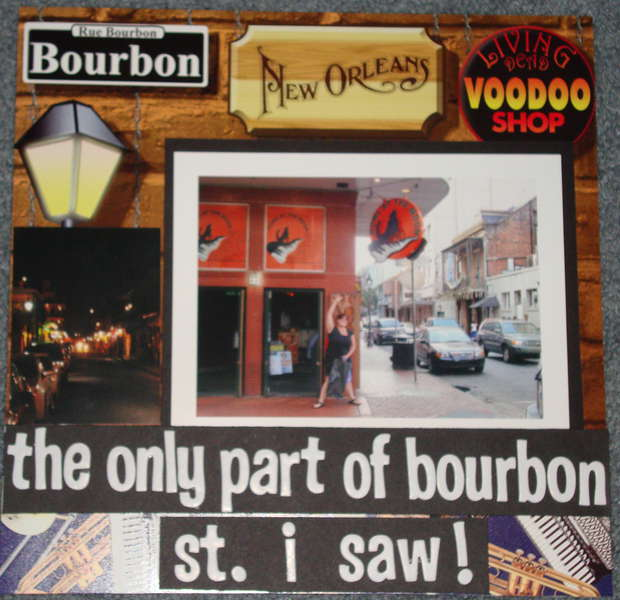 The Only Part of Bourbon St. I saw!