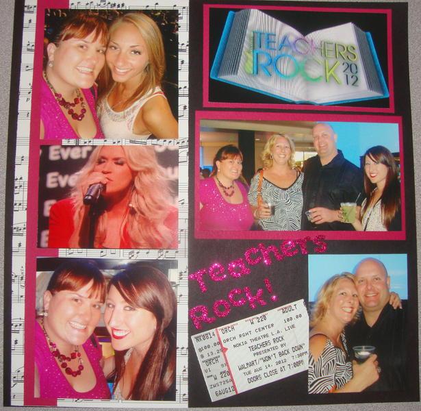 Teacher's Rock Concert
