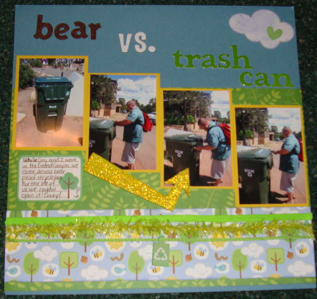 Bear Vs. Trash Can