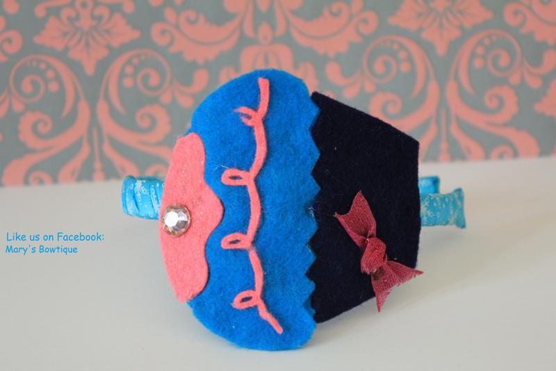 Cupcake headband