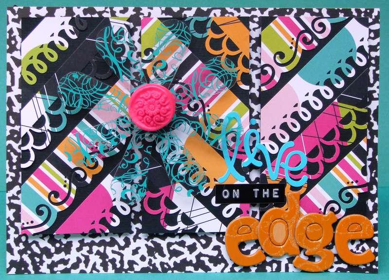 Twisted Card #034 EDGE Happy Birthday