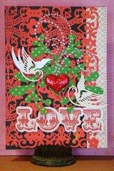 Twisted Card Sketch #042 DIECUT Love Valentine