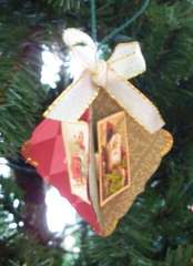 3 sided ornament (side view)