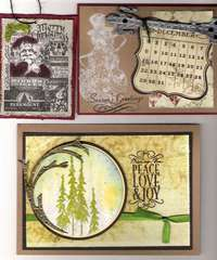 Tim Holtz vintage cards(archivers)